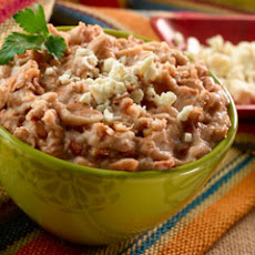 Parsley Refried Beans