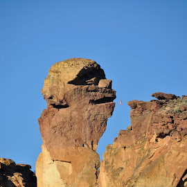 Monkey Face At Smith Rock, Redmond OR, USA by Jacquie Wooten - Landscapes Caves & Formations (  )