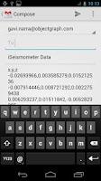 Screenshot of iSeismometer