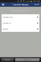 Screenshot of FNBT & FCB Mobile Banking