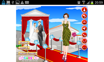 Screenshot of Jogos de Vestir Noivas