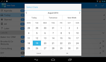 Screenshot of Tasks & To-do for Google Tasks