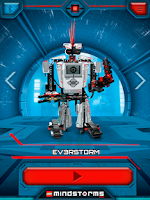 Screenshot of LEGO® MINDSTORMS® Commander