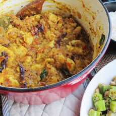 Chettinad Chicken Curry with Okra