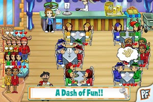 Screenshot of Diner Dash Deluxe