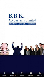 B.B.K Accountants - screenshot