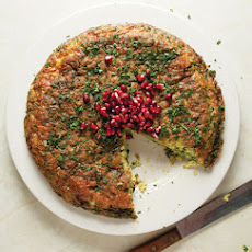 Kuku Sabzi (Leek and Herb Frittata)