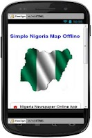 Screenshot of Simple Nigeria Map Offline