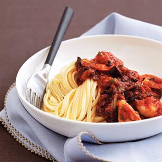 Pasta Puttanesca With Shrimp Recipes