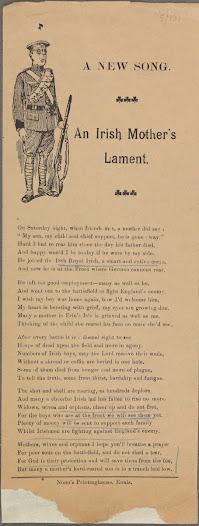 A New Song: An Irish Mother's Lament, 1916