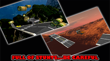 Screenshot of Stunt Car Parking Mania Free