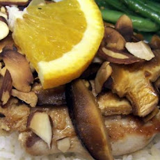 Chinese-Style Orange-Almond Chicken