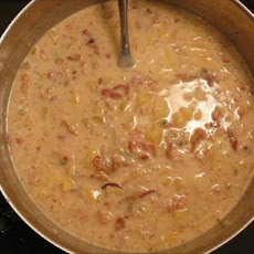 Winter Night Creamy Clam Chowder
