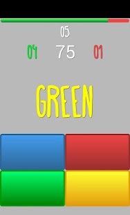 Stroop Game - screenshot