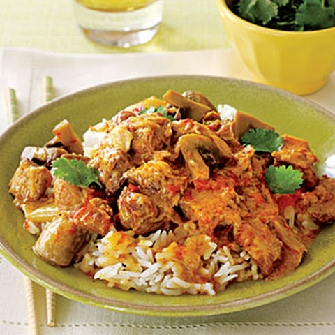 Thai Pork with Red Curry