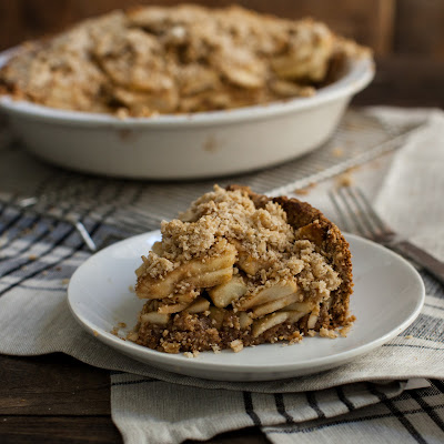 Gluten-free Maple Vanilla Bean Apple Pie