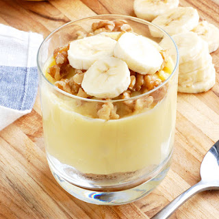 Guilt-Free Banana Pudding