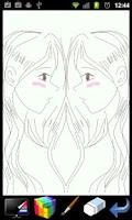 Screenshot of 피카소 - 미러 페인트 (그림판)