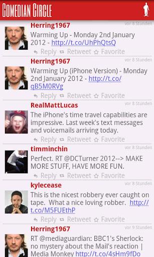 Comedy Tweets