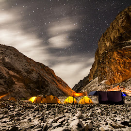 Night at Tibb by Madhujith Venkatakrishna - Landscapes Starscapes (  )