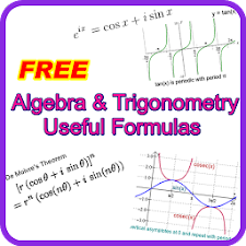 Algebra Trigonometry Formulas