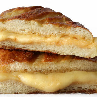 Sweet Hot Mustard and Jarlsberg Grilled Cheese