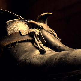 The Stories These Shoes Could Tell by Chris Kingdon - Artistic Objects Clothing & Accessories (  )