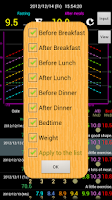Screenshot of Diabetes Diary Lite