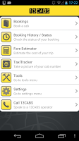 Screenshot of 13CABS Taxi