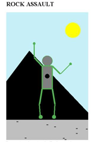 RockAssault Rock Climbing Game