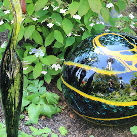 Tell-tale by Cheryl Petretti - Novices Only Objects & Still Life ( chihuly, seattle, friendship, sculptor, glass garden )