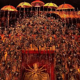 Durga Pujo 2014 by Sudipto Bhaumik - Artistic Objects Still Life (  )