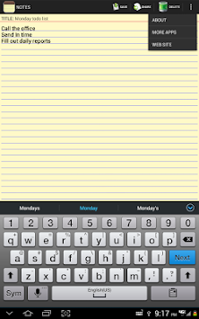 Notepad APK screenshot thumbnail 12