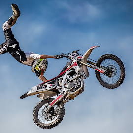 Helicopter  by Josh Rud - Sports & Fitness Motorsports ( motocross, indian air, fmx, dirt bike, freestyle )