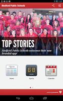 Screenshot of Medford Public Schools