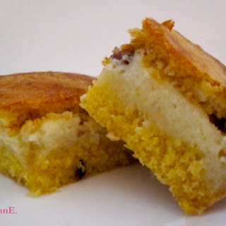 Cranberry & Custard Filled Cornbread
