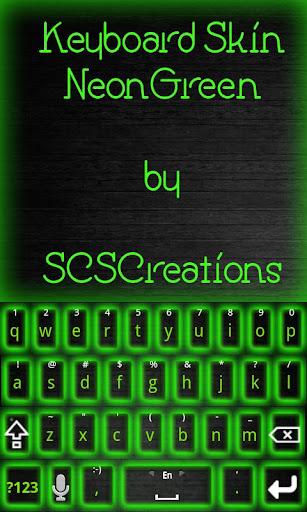 KB SKIN - Neon Green