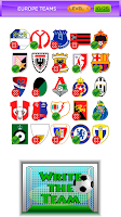 Screenshot of Logo quiz football teams 14/15
