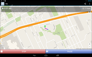 Screenshot of JogTracker Pro