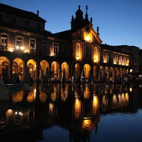 Braga by Graça Cortez - City,  Street & Park  Night ( Lighting, moods, mood lighting,  )