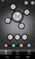 Screenshot of Sharp Smart Remote