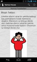 Screenshot of Namaz Hocası