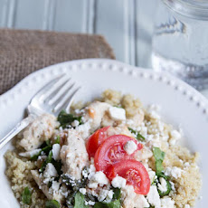 Tomato Basil Chicken and Quinoa