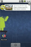 Screenshot of Gaming Buzz Widget