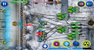 Screenshot of Tank ON - Modern Defender