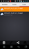 Screenshot of HD Audio Recorder Pro (Mp3)