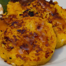Pumpkin Hash Browns / Vegetarian Pumpkin Burgers