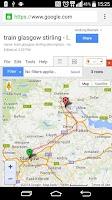 Screenshot of Map Distance & Area Calculator