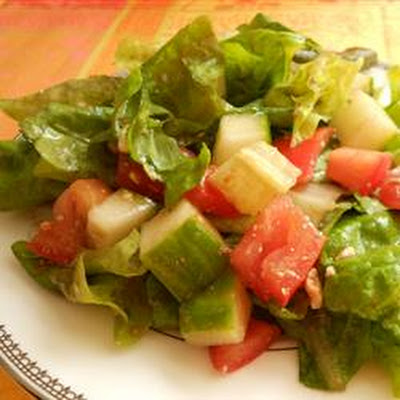 Lebanese Rubbed Salad