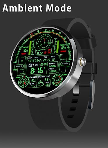 V08 WatchFace for Moto 360 - screenshot